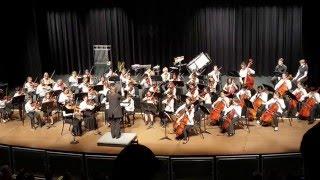 Arlington Junior Honors Orchestra 2016 -  Fire Dragon Mountain