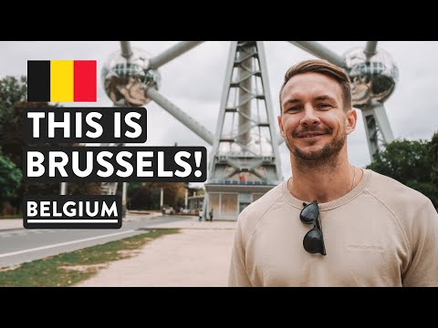 Best Brussels Attraction?  | The Atomium | Belgium Travel Vlog