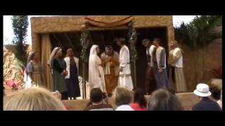 First miracle of Jesus at the Holyland Experience 2009 part 1