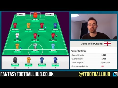 FPL Tips for Gameweek 30 from Fantasy Football Hub Will