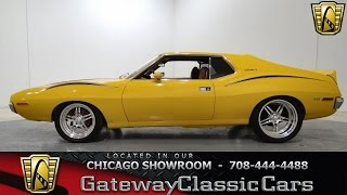 1972 AMC Javelin SST Gateway Classic Cars Chicago #677