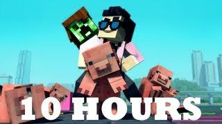 """Minecraft Style"" - 10 Hours - A Parody of PSY's Gangnam StyIe (10 Hour Loop)"