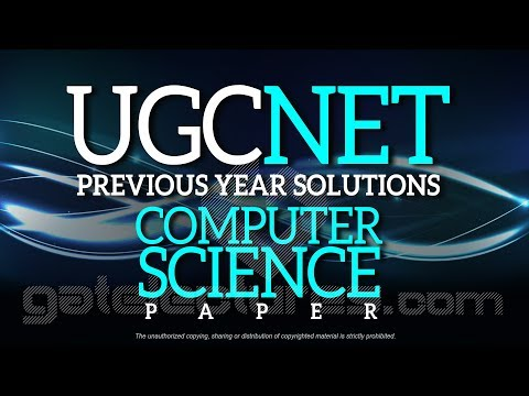 UGC NET Computer Science JUNE 2014 Paper 2 Solutions Q26 to 30