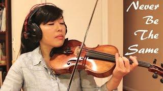 Baixar Never Be The Same - Camila Cabello - Violin Cover