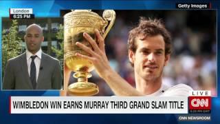 Andy Murray wins Wimbledon July 10, 2016
