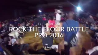 Full Cream-Rock the Floor Battle Pro 2016 Bgirl Terra (Soul Mavericks) vs Bruce Almighty Semi Final