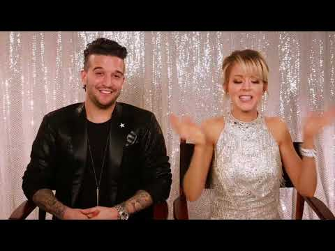 Lindsey Stirling and Mark Ballas Interview