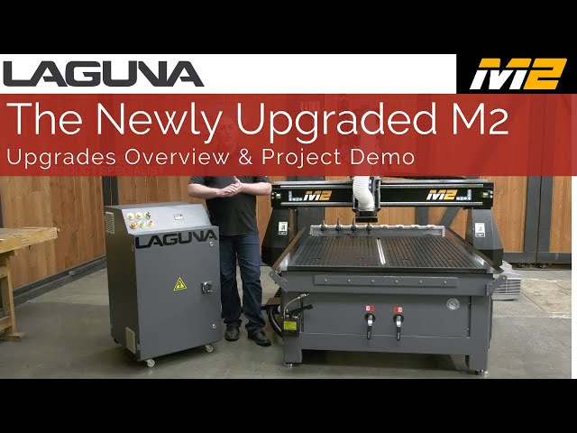 The Best Value CNC Router | Introducing the Newly Upgraded SmartShop® M2 | Laguna Tools