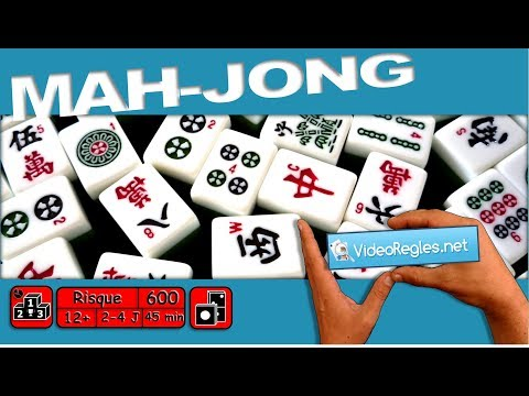 """Vidéorègle jeu de société """" Mah-Jong """" par Yahndrev (#600)"""