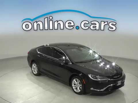 A12959JT Used 2015 Chrysler 200 Limited FWD 4D Sedan Black Test Drive, Review, For Sale