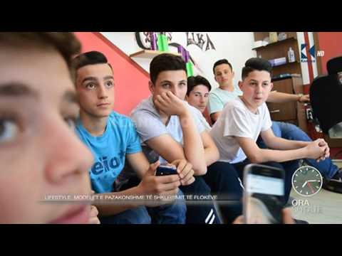 "Ora 7 - Modelet e pazakonshme te flokeve nga frizeri ""Lika"" - Klan Kosova"