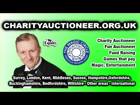MAGIC OZ THE FUN CHARITY AUCTIONEER, MAGICIAN, ENTERTAINER