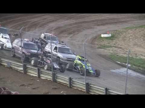 BOSS at Waynesfield Raceway Park 8-4-18