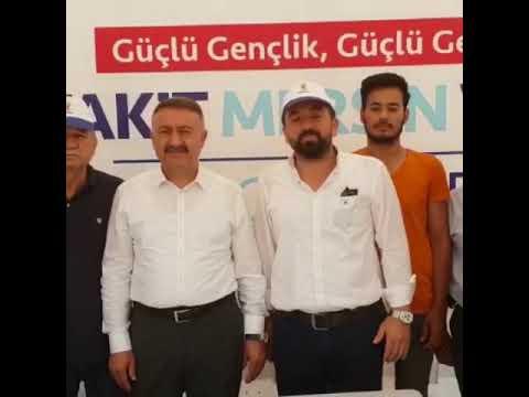 İhsan GÜLTEKİN,Hacı Özkan ,Ak Parti mezitli ilçe başkanlığı