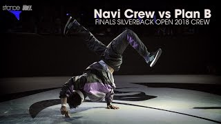 Navi Crew vs Plan B - Finał 3vs3 na Silverback Open 2018