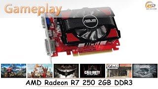 AMD Radeon R7 250 2GB DDR3: gameplay в 17 популярных играх