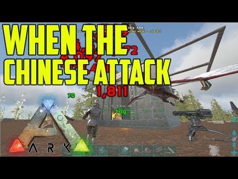 The Chinese Attacked Us!! | Unofficial Ep. 7 | ARK: Survival Evolved thumbnail