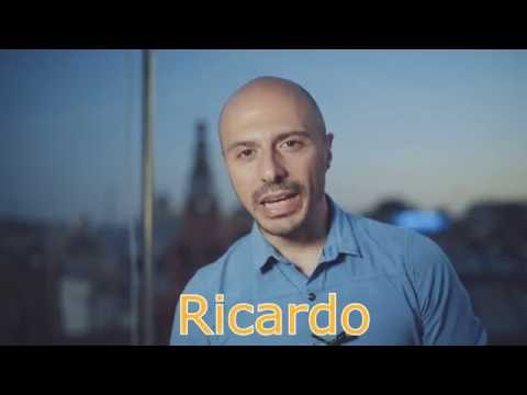Presentation youtube channel Learning spanish with Ricardo