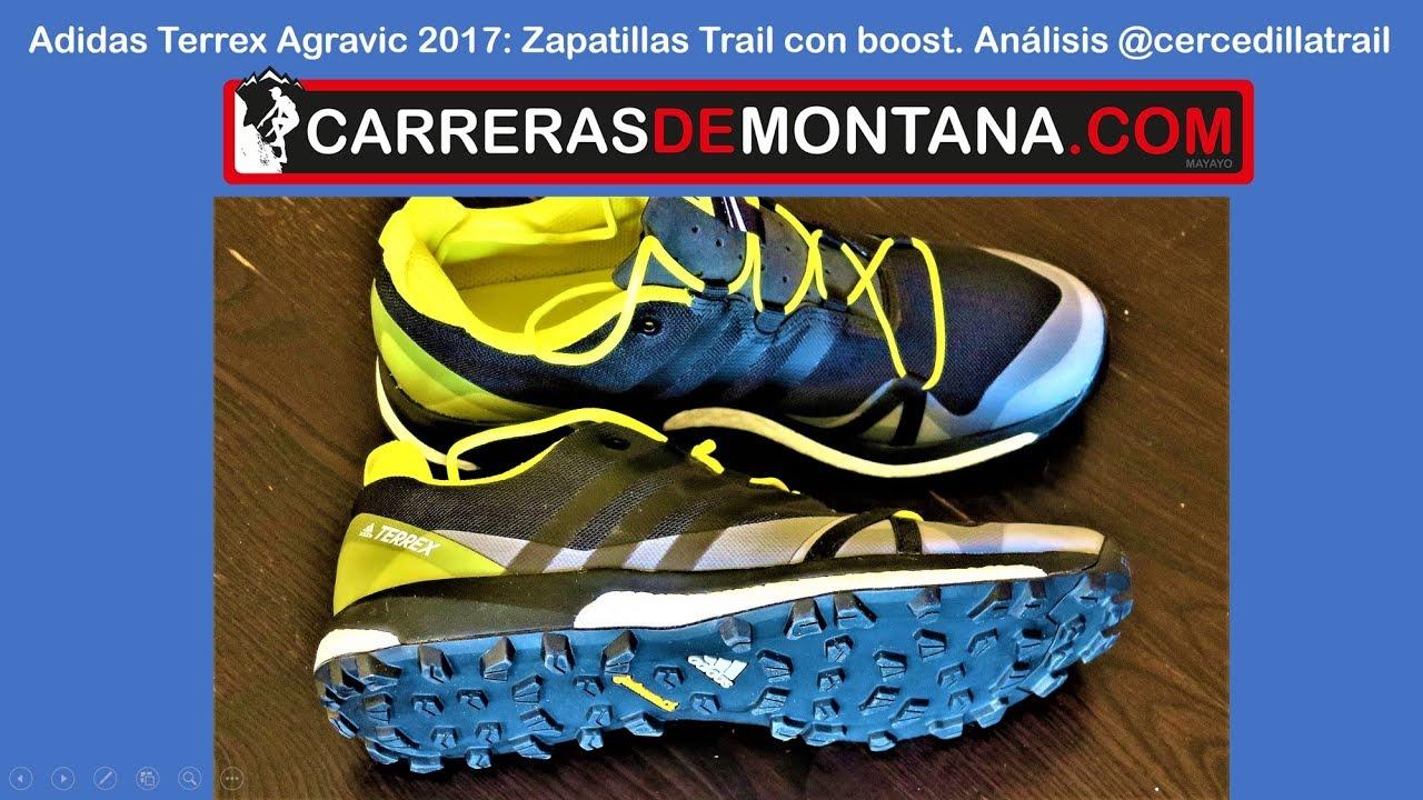 2017 Agravic Boost Con Zapatillas Trail Running Adidas Analisiscercedillatrail Terrex hdCxtsQBr