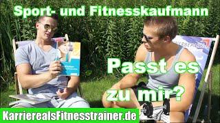 Sport- und Fitnesskaufmann: Azubi berichtet über seine Ausbildung! (Gehalt, Lerninhalte usw)