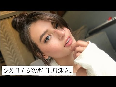 Chatty GRWM | Weekend Makeup + Hair | Jessica Clements