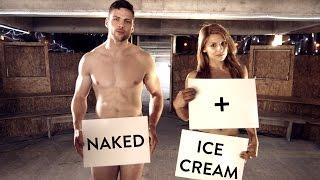 Naked girls cream Ice