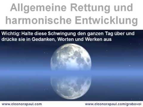 Allgemeine Rettung und harmonische Entwicklung - audio