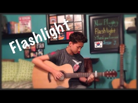 Flashlight - Jessie J  - Fingerstyle Guitar Cover (from Pitch Perfect 2)