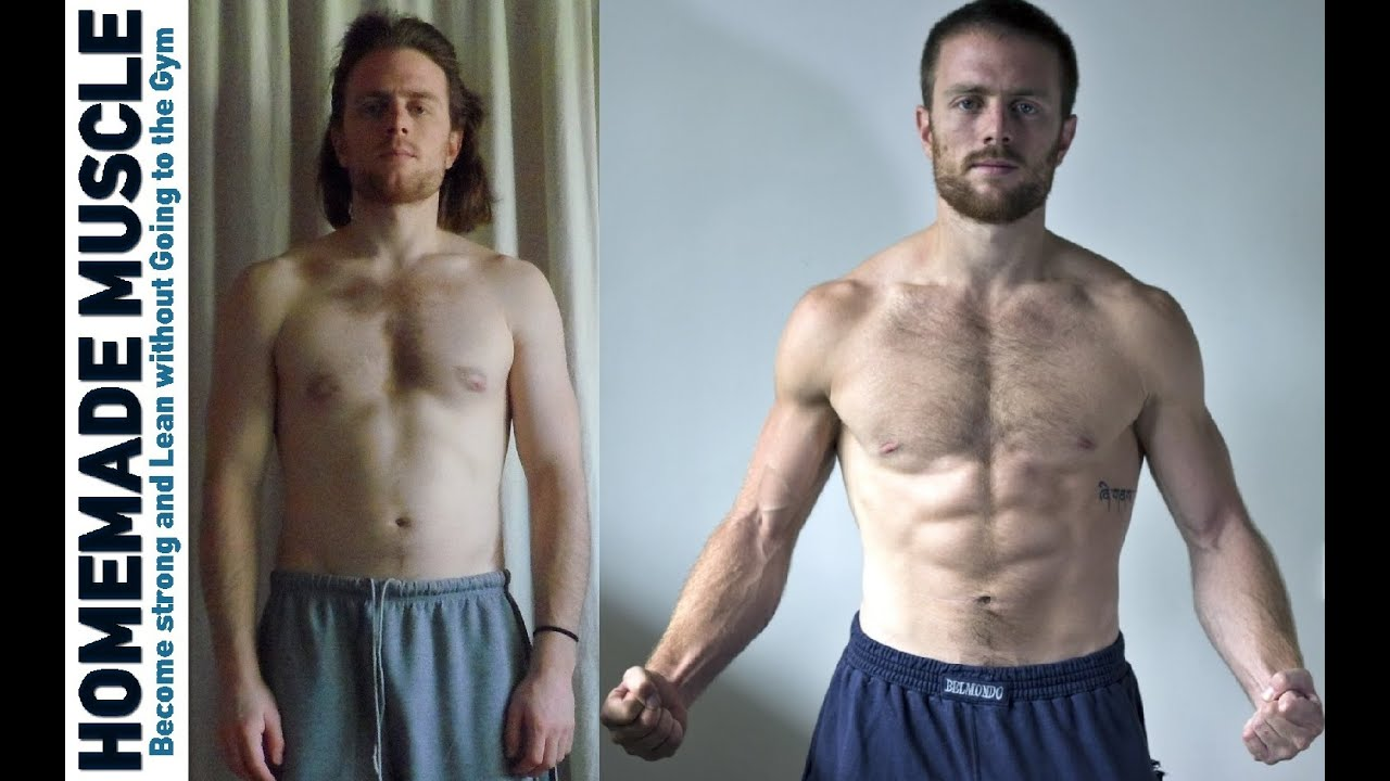 Bodyweight Exercise Transformation NATURAL