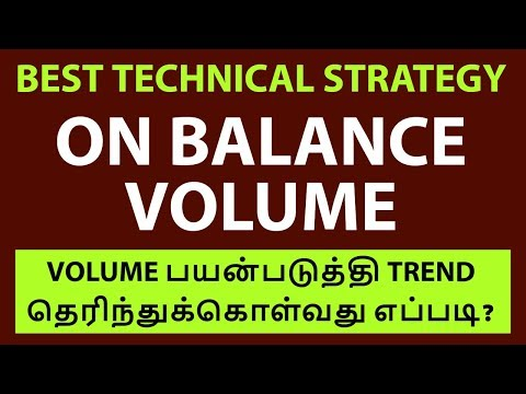 Technical Strategy - ON BALANCE VOLUME | Stock Market |Tamil|NSE|Nifty|Share|Zerodha|Aliceblue|CTA
