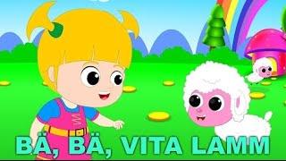 Barnsånger på svenska | Bä bä vita lamm med mera