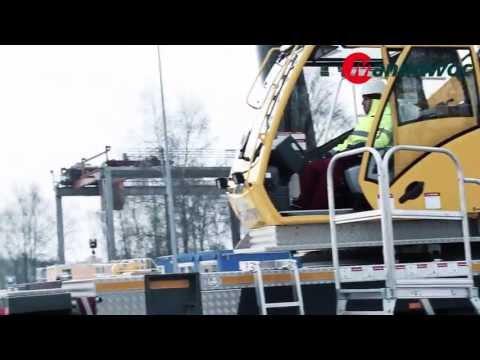 Grove GMK six-axle mobile cranes - Luffing jib