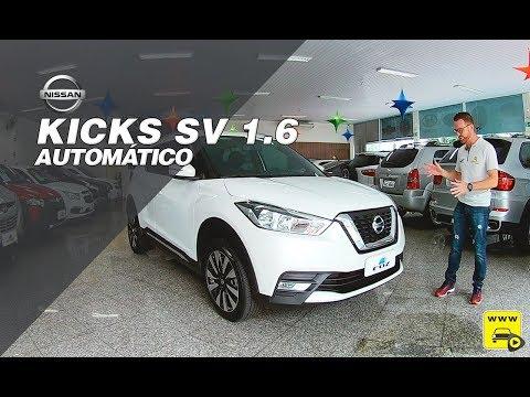 Nissan Kicks SV 1.6 CVT nos mínimos detalhes