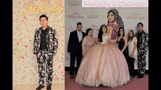 I WENT TO MELODY'S QUINCEAÑERA! | The Aguilars