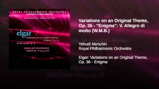 "Variations on an Original Theme, Op. 36 - ""Enigma"": V. Allegro di molto (W.M.B.)"