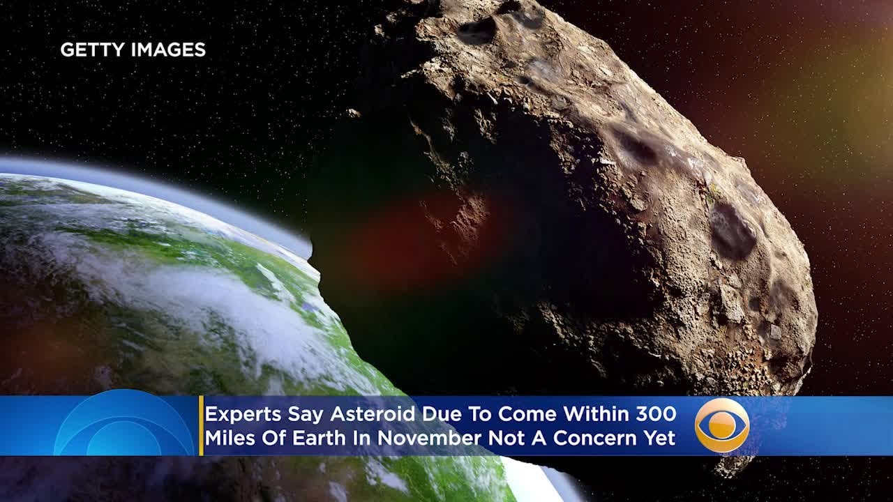 Experts Say Near Earth Asteroid Due To Come Within 300 Miles Of Earth In November Not A Concern Yet