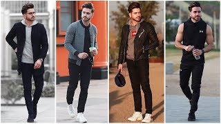 MEN'S OUTFIT INSPIRATION | Men's Fashion Lookbook 2018 | 4 Easy Outfits for Men