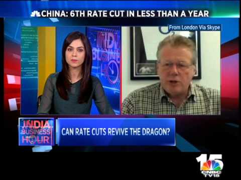 CHINESE CENTRAL BANK CUTS RATES, TO KNOW MORE WATCH INDIA BUSINESS HOUR