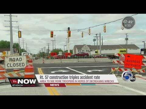 Intersection Under Construction In Elyria Sees 6 Crashes In One Week Following Traffic Change