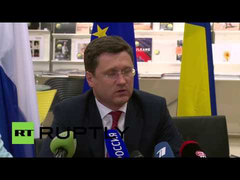 "Belgium: ""Russian position remains unchanged"" on Ukrainian gas debt - Russia Energy Minister"
