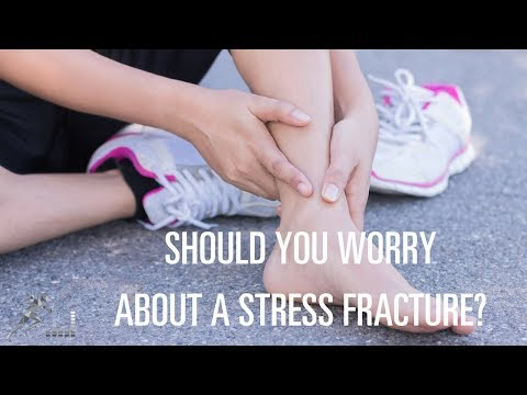 Should a runner worry about a stress fracture in her foot?