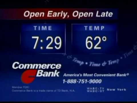 2008 WABC Commerce Bank Time Temp ID