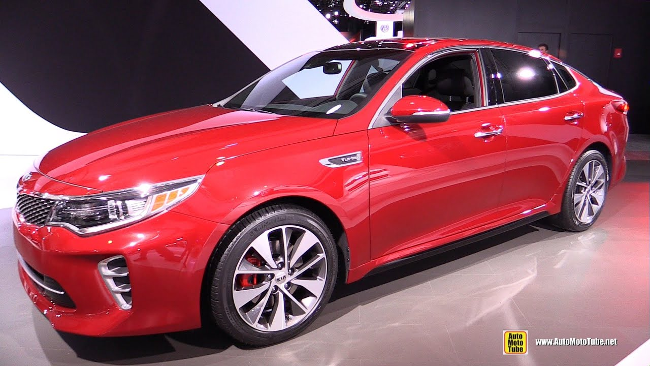 2016 Kia Optima Sx T Gdi Exterior And Interior Walkaround Debut At 2017 New York Auto Show