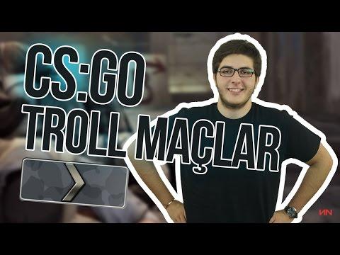 SILVER GÜNLÜKLERİ - CS:GO TROLL MAÇLAR Türkçe #1