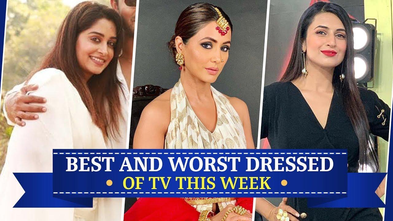Hina Khan, Dipika Kakar & Divyanka Tripathi : Best & Worst Dressed of the Week | Fashion