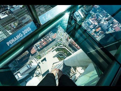 Penang Komtar the TOP 68th Floor Rainbow Skywalk