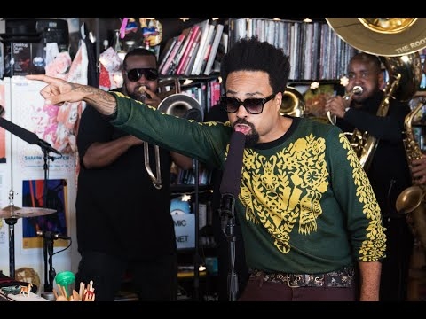 The Roots feat Bilal: NPR  Tiny Desk Concert