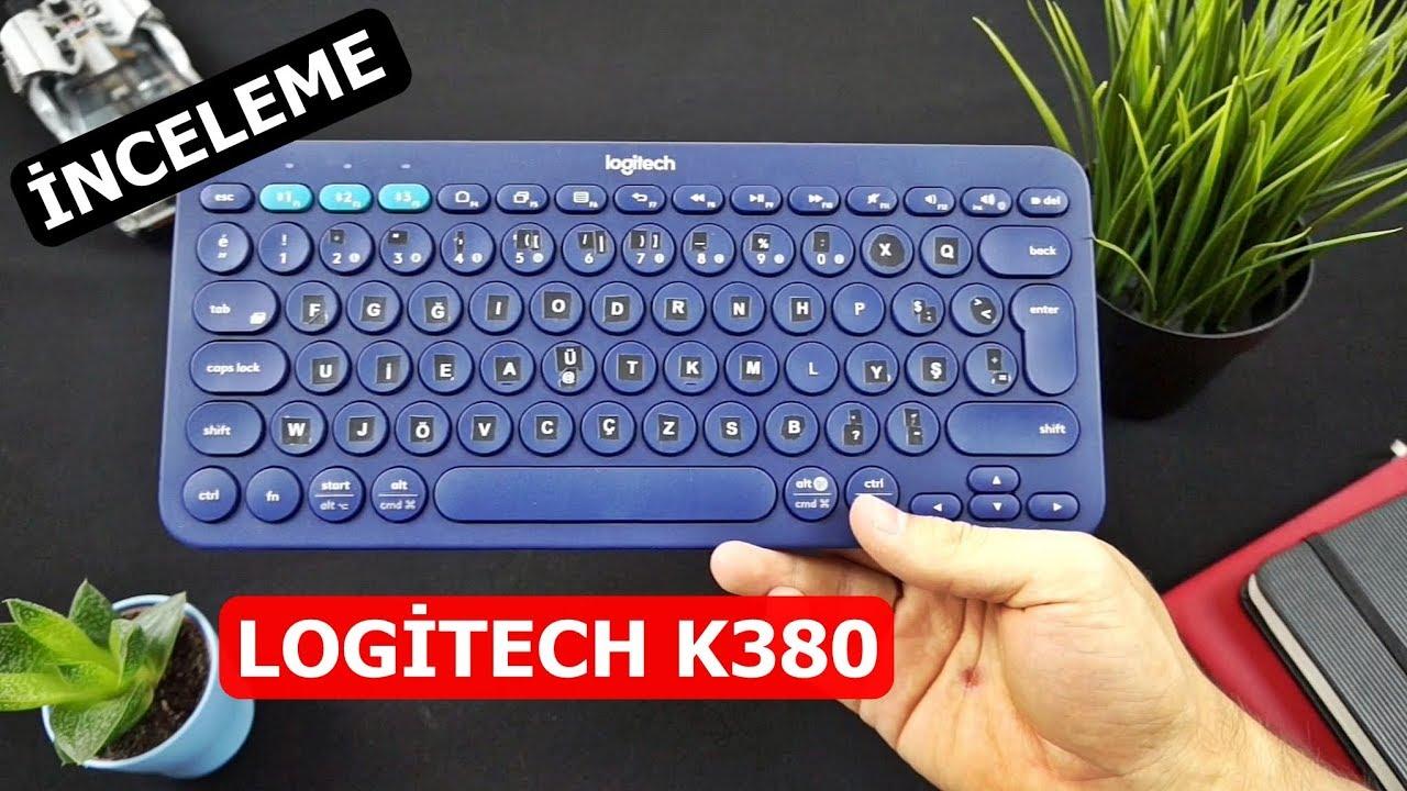 4c62e06f009 Logitech K380 Bluetooth Klavye incelemesi - YouTube