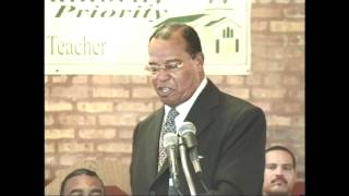 Powerful Message by Farrakhan! Message to West Side Baptist Ministers