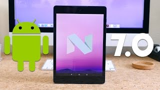 Android 7.0 Nougat on Nexus 9!